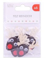Embellishments Reindeer Heads