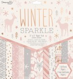Paper Pk 12x12 Dovecraft Winter Spark