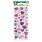 Fun Stickers Love Hearts