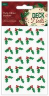 Stickers Papermania Glitter Holly