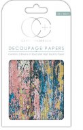Decoupage Paper Textured Wood