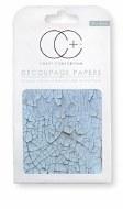 Decoupage Paper Crackle Wood