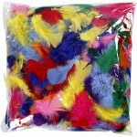 Feathers 100g BULK Marabou