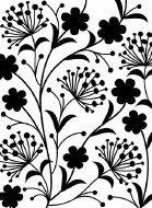 Embossing Folder Dandelion