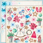 Paper 12x12 Lemoncraft Joy To The World #5