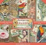 Paper Pk 8x8 Stamperia Amazonia