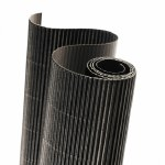Corrugated Roll 50x70cm Black