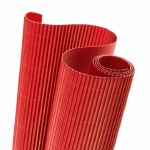 Corrugated Roll 50x70cm Red