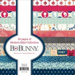 "Bo Bunny Paper Pad 6x6"" 36pk Modern Miss"