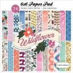 Carta Bella Wildflower Cardstock Pad 6X6