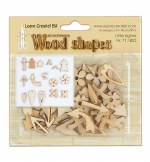 Wood Shapes Little Signs 48pk