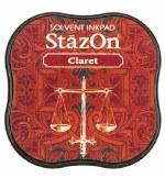 Staz-on Midi 58x58x20mm Claret
