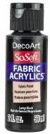 DecoArt SoSoft 59ml Black