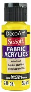 DecoArt SoSoft 59ml Yellow Bright