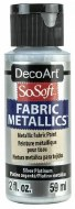 DecoArt SoSoft 59ml Metallic Silver