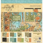 Graphic 45 Paper Pad 12X12 24/Pkg Artisan Style