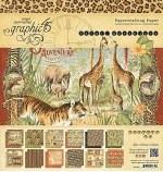 Paper Pk 12x12 G45 Safari
