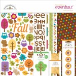 Doodlebug Essentials Page Kit 12X12 Friendly Forest