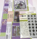 A4 Decoupage Sweet Violet Kit