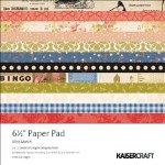 Kaisercraft Miss Match Paper Pad 6.5X6.5 40 Sheets