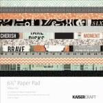 Kaisercraft Paper Pad 6.5X6.5 40pk Mister Fox