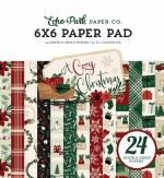 Paper Pk 6x6 Echo Park Cozy Xmas