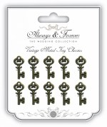 Embellishments Mini Keys 10pk