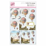 A4 Foiled Decoupage Birthday Balloon