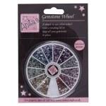 Gemstone Wheel 2mm 12 Colours