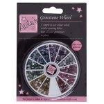Gemstone Wheel 3mm 12 Colours