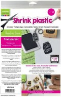 Shrink Plastic Clear A4 4pk
