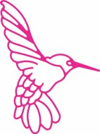 Cheery Lynn Die Hummingbird