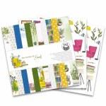 Paper Pk 12x12 PT Garden Books