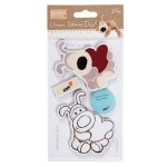 "Stamps Urban 5x7"" Boofle Amor*"