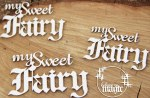 Chipboard Magic Sweet Fairy