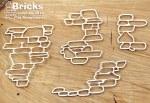 Chipboard Bricks 3pk