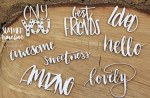 Chipboard Summer Words #3