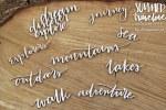 Chipboard Summer Words #2