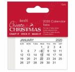 Calendar Tabs 2020 10pk