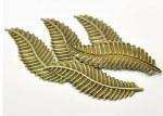 CAS Embellies Bronze Fern 5pk