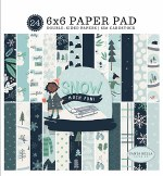 Paper Pk 6x6 CB Snow Much Fun