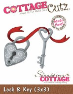 Cottagecutz Lock & Key Shape