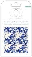 Decoupage Paper Floral Porcela