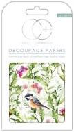 Decoupage Paper Birds & Bflies