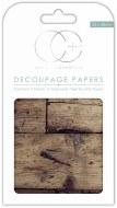 Decoupage Paper Oak Top