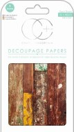 Decoupage Paper Craft Consortium Reclaim Wood