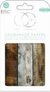 Decoupage Paper Craft Consortium Wood Cabin