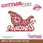 Cottagecutz Winter Sleigh