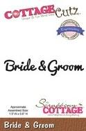 Cottagecutz Die Bride & Groom Script