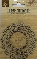 Chipboard LB Chain Circle
